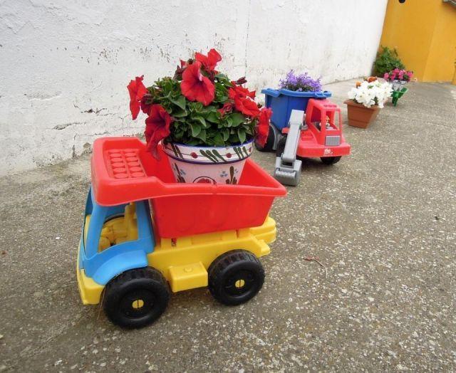 Maceta tractor