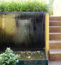 Spectacular Garden Water Wall Ideas - Garden Lovers Club