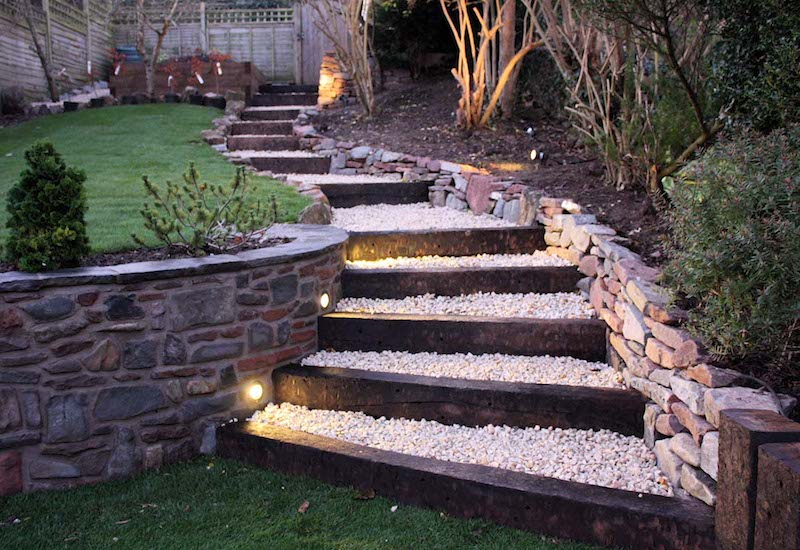 truly innovative garden step lighting