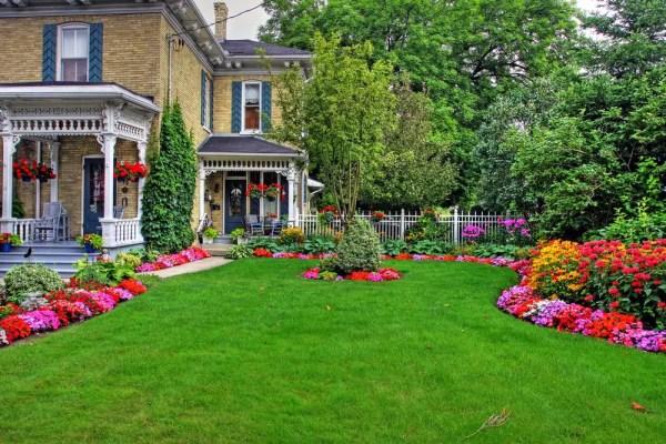 front porch garden ideas