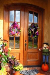 15 Fall Front Door Decoration Ideas - Garden Lovers Club