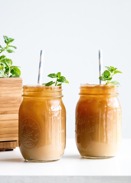 Fresh Mint Iced Coffee Recipe
