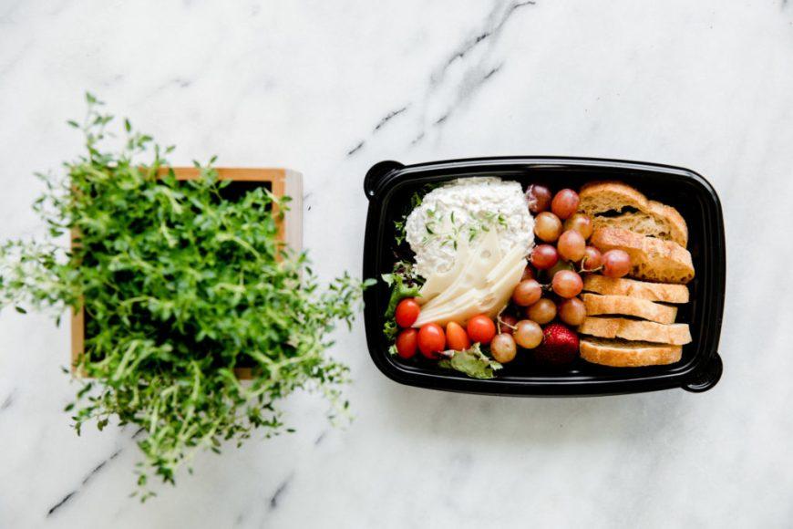Fresh Herb Box and Food
