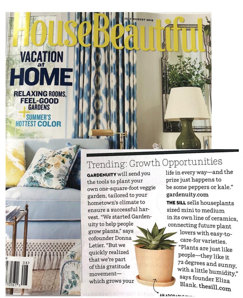 House Beautiful Article