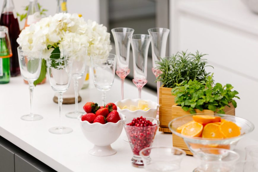 Cocktail Party Set up