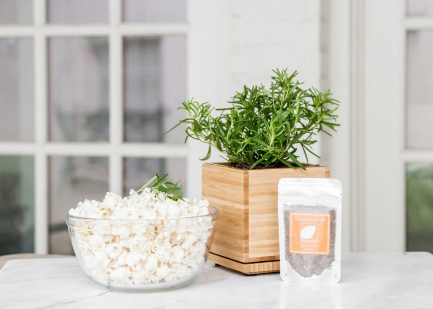 Rosemary Seasoned Popcorn
