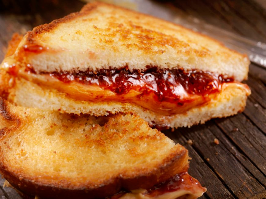 jam and grilled cheese recipe