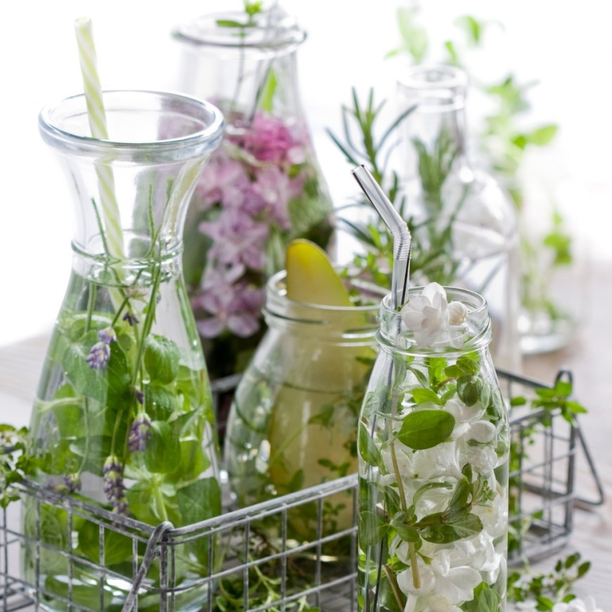 tips for staying hydrated herbal water
