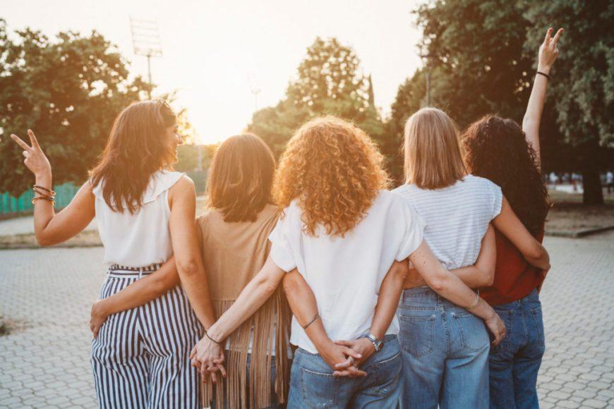 Friends Practicing Gratuity