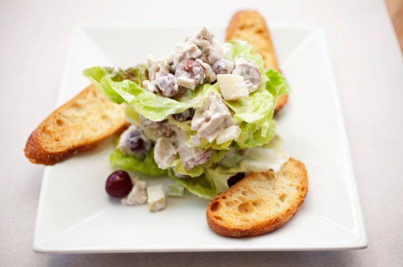 Leftover Turkey Waldorf Salad