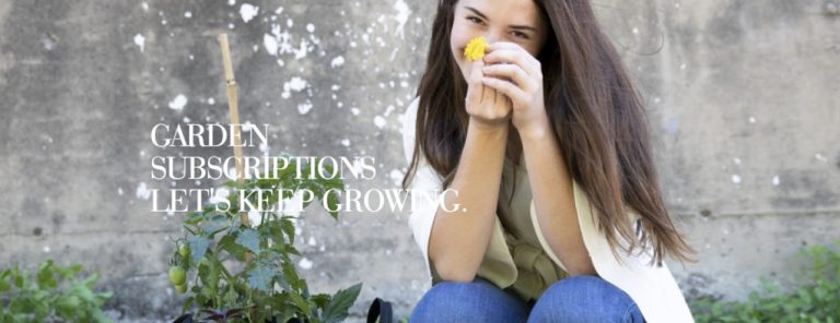 Garden Subscriptions Experiential Gift