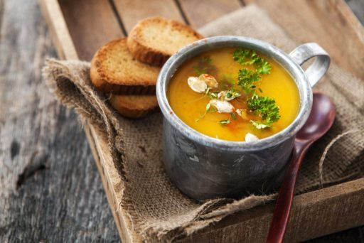 Pumpkin & Pepper Soup Holiday Recipes