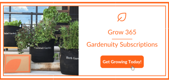 Gardenuity Subscriptions