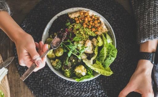 Romaine Lettuce Buddha Bowl