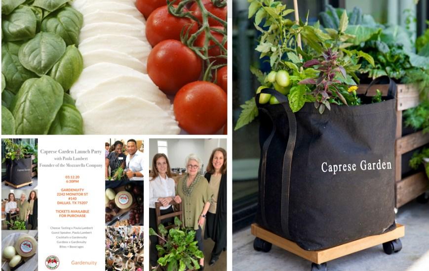 Gardenuity & The Mozzarella Company Event
