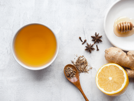 Warm Spiced Green Tea