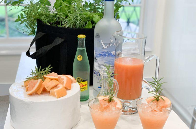 Rosemary Greyhound Big Batch Cocktail