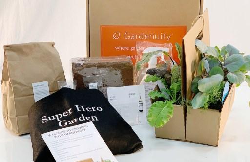 Super Hero Garden