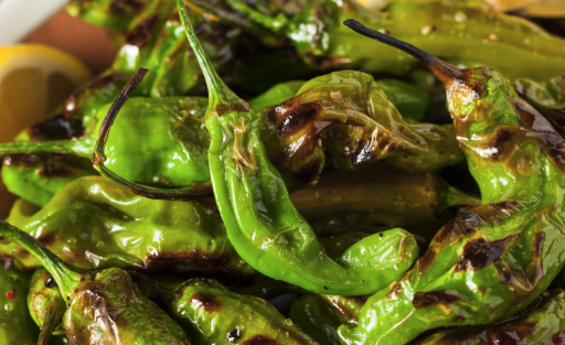 Shishito Peppers Roasted