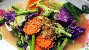 obed: pražená zelenina