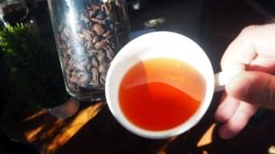 K'HO coffee farm: šupkovica, Cascara, vysušená dužina obaľujúca kávové zrnká