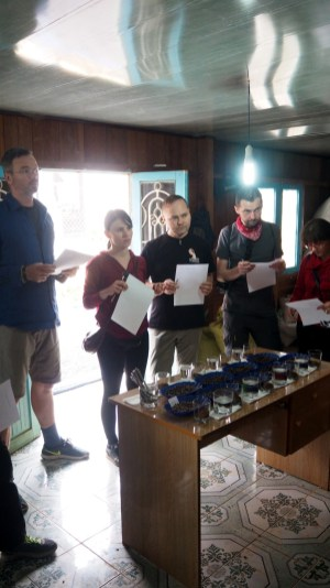 K'HO coffee farm: Slepé hodnotenie, nezávislí degustátori