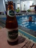Mũi Né, hotelový bazén