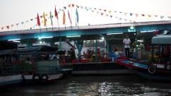 Cái Răng: plávajúci trh, reštaurácia