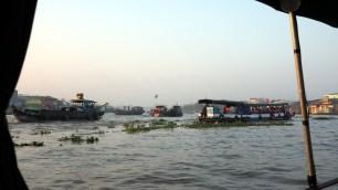 Cái Răng: plávajúci trh