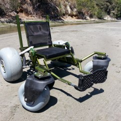 Wheelchair Project Chair Covers Amazon India The Sand Crawler A Beach Powered By