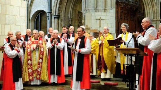The Bishop of Grantham became a suffragan in the Lincoln diocese in November last year
