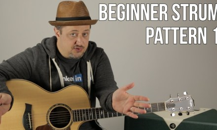 Beginner Strumming Patterns For Acoustic Guitar Pattern 1 – Beginner Guitar Lessons