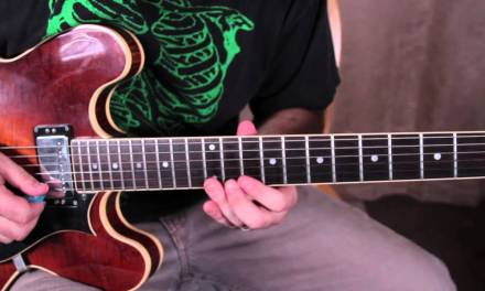 Guitar Scales Lesson – The 5 Positions of the Minor Pentatonic Scale – blues scale