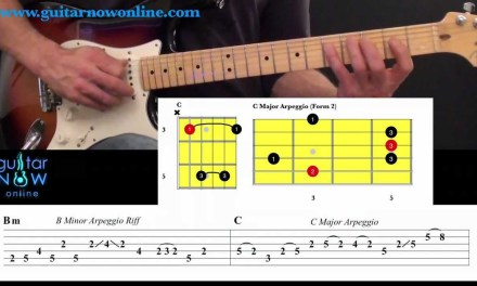 Learn How To Connect Chords, Scales, Arpeggios and Licks. Intermediate Guitar Lesson