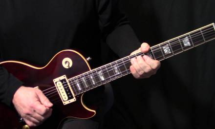 """how to play """"Heroes"""" on guitar by David Bowie 
