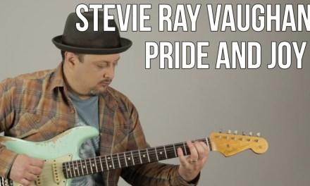 Stevie Ray Vaughan – Pride and Joy – Blues Guitar Lesson – Texas Blues Fender Strat