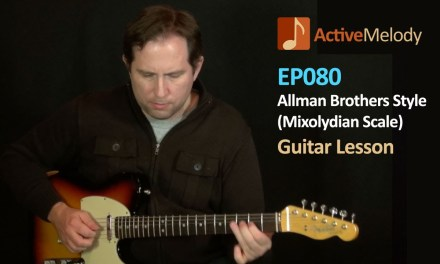 Allman Brothers Mixolydian Scale Guitar Lesson – Jerry Garcia Style – EP080