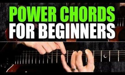 Beginner's Guitar Lesson on Power Chords