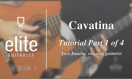 Learn to play Cavatina – EliteGuitarist.com Classical Guitar Video Tutorial Part 1/4