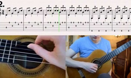 Malaguena – Spanish Classical Guitar (How to play with tabs)
