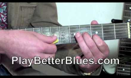 Blues Guitar Lesson 1 – Delta Blues style lick
