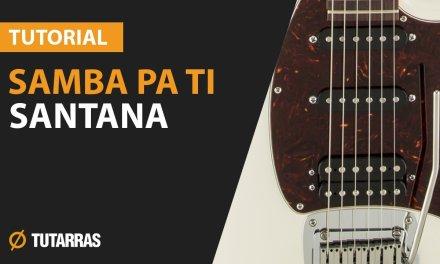 How to play SAMBA PA TI from SANTANA – Electric Guitar GUITAR LESSON