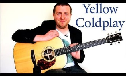 Yellow – Guitar Lesson – Coldplay – 100% Accurate – Chords + Rhythm