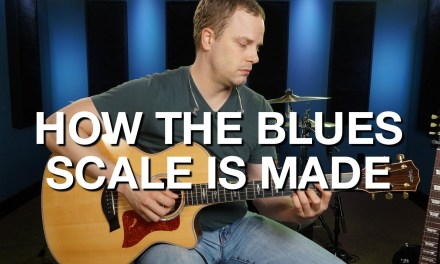 How The Blues Scale Is Made – Blues Guitar Lesson #7