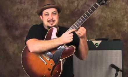 Blues solo guitar lesson – part 1 Blues Lesson – Blues Scale Lick