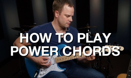 How To Play Power Chords – Rhythm Guitar Lesson #2