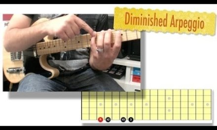 Diminished Scale Guitar Lesson