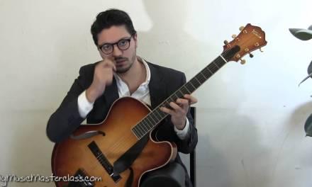 Pasquale Grasso – Solo Jazz Guitar Lesson 2