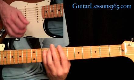 Still Got The Blues Guitar Lesson Pt.2 – Gary Moore – Verse, Chorus & Bridge