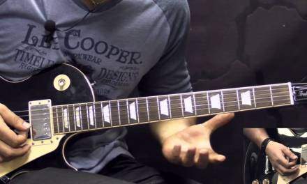 Gary Moore – Oh Pretty Woman – Blues Guitar Lesson Part2 (w/Tabs)